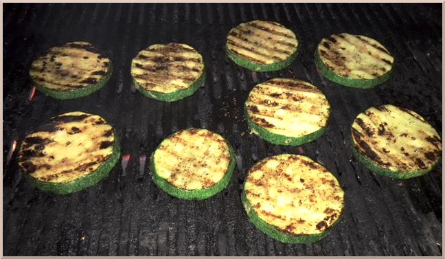 bbq barbecue zucchini