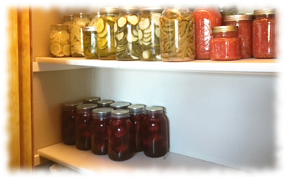 Storing canned plums-Home Canning Pantry