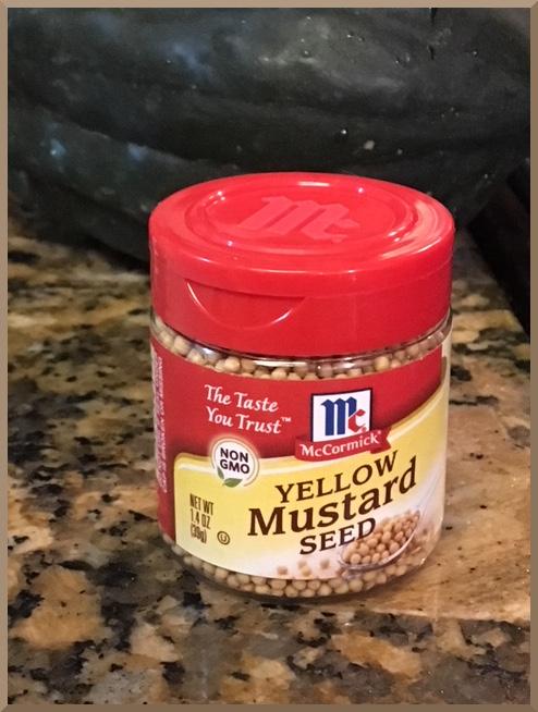 McCormick Yellow Mustard Seed