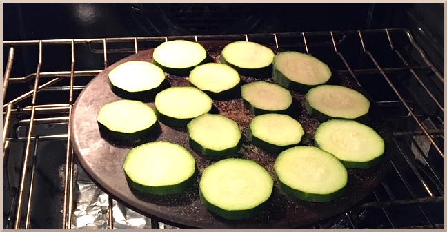 Bake Zucchini in Oven