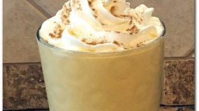 Pumpkin Spice Frappuccino Low Carb Keto Friendly