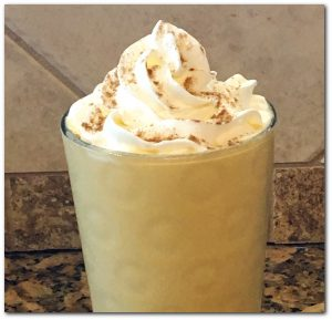 Pumpkin Spice Frappuccino Low Carb Keto Friendly