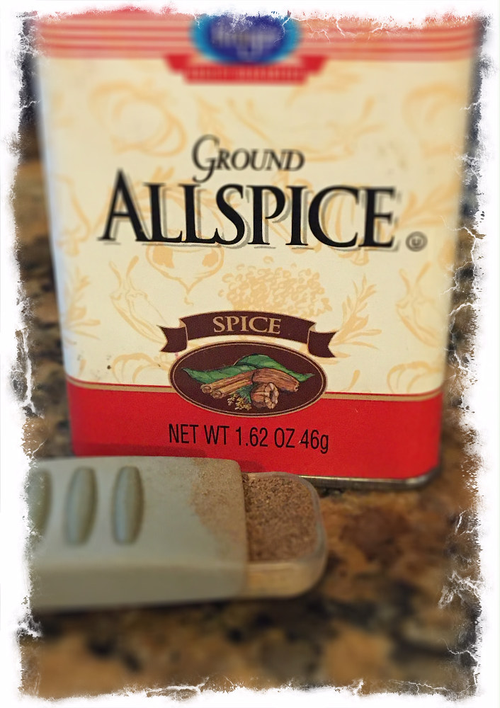 Add the allspice to the blender