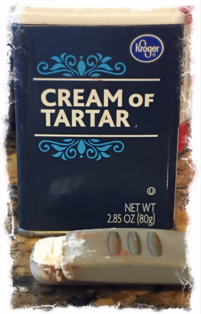 1/4 teaspoon of cream of tartar