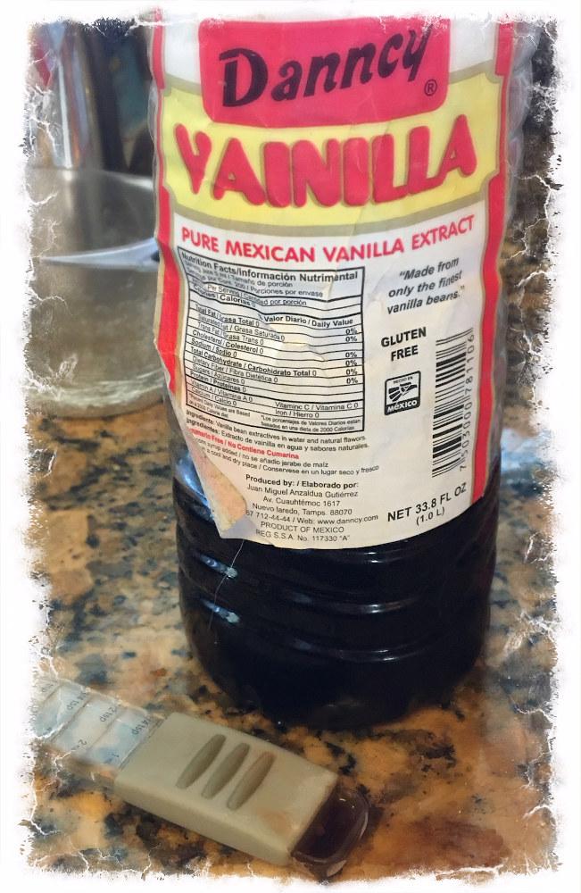 Add 1/4 tsp Vanilla to the blender