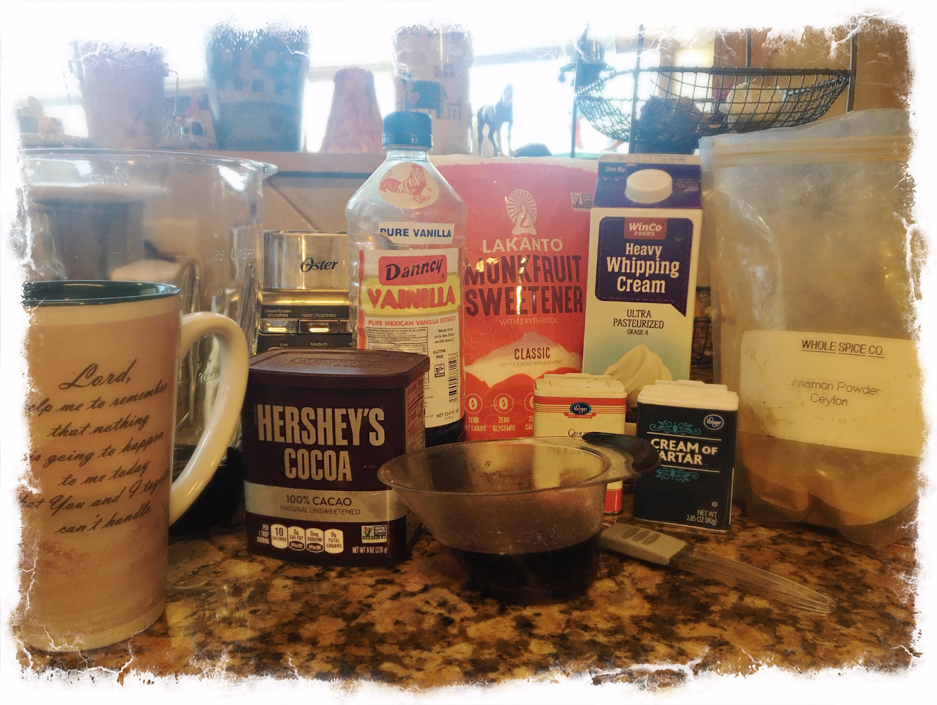 Snickerdoodle Frappuccino Ingredients