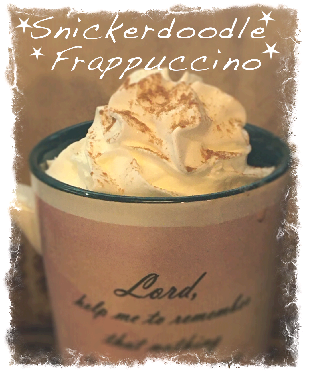 Snickerdoodle Frappuccino -Blended Coffee
