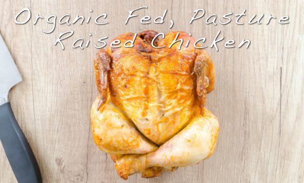 Pasture Raised Organic Fed Chicken